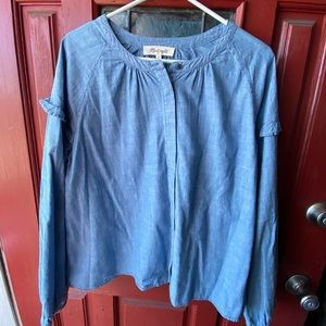 Long sleeve Chambray Top (Madewell)